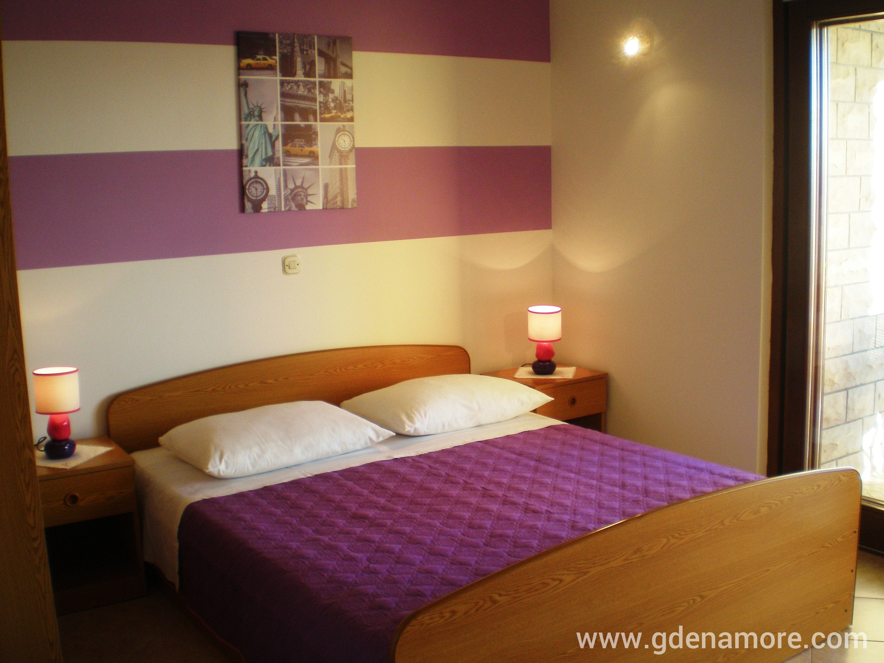 private accommodation apartments tamara (violet apartment) in